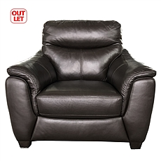 OUTLET一人位沙发 全牛皮 GL 11345Y B级品